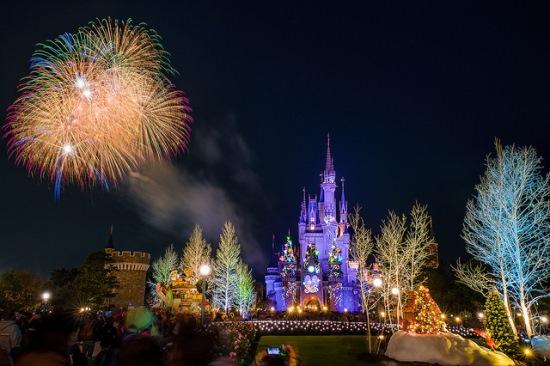 Panorama Tokyo Disneyland : Festival Kembang Api