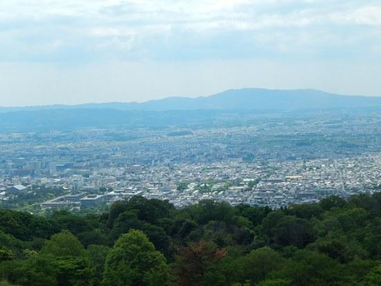 Panorama dari atas Gunung Wakakusa
