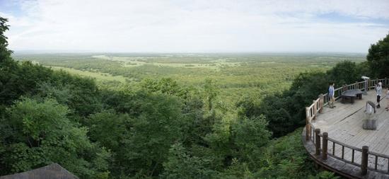 Panorama dari dek Hokuto viewpoint