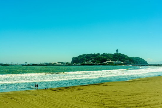 Pantai Kamakura dan Enoshima