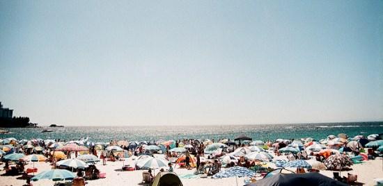 Pantai Shirahama Wakayama saat musim panas