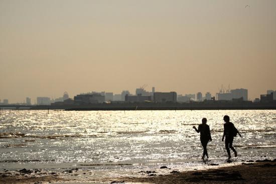 Pantai Taman Kasai Rinkai Tokyo