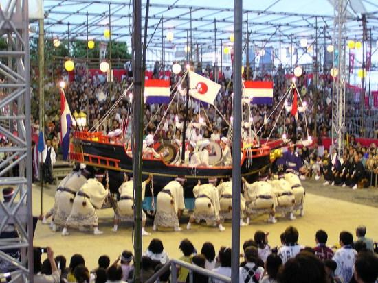 Para Festival Kunchi Nagasaki