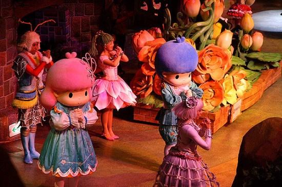 Parade tarian di Sanrio Puroland