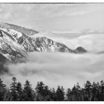 Pegunungan Alpen Jepang dari Shin Hotaka Ropeway
