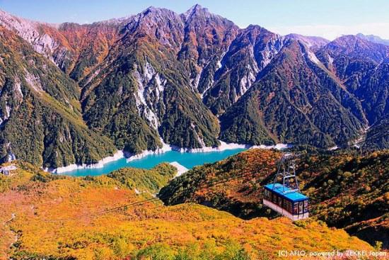 Pegunungan Tateyama dan Tateyama Cablecar