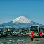Pemandangan Gunung Fuji Hakone