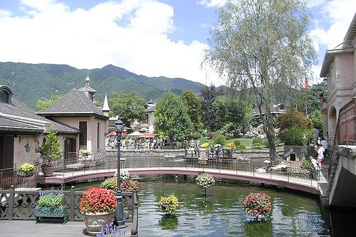 Pemandangan Kawaguchiko Music Forest