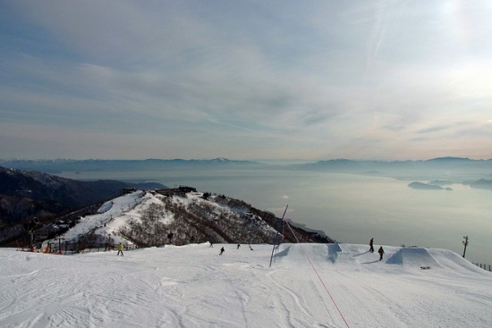 Pemandangan Resort Ski Biwako Valley