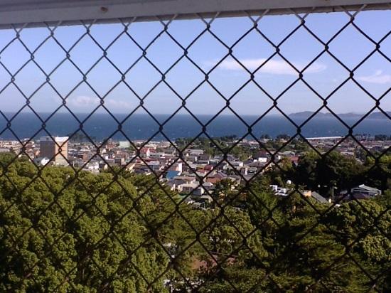 Pemandangan kota dari atas Kastil Odawara