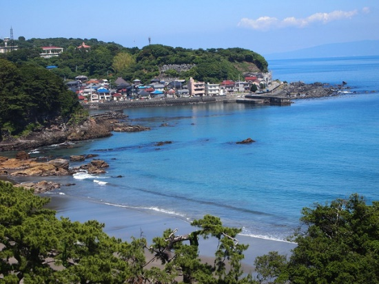 Pemandangan laut dari Izu Imaihama Tokyu Hotel