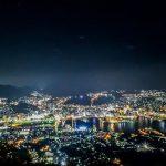 Pemandangan malam Nagasaki