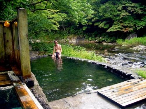 Pemandian air panas atau onsen