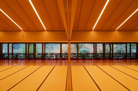 Pendopo utama Museum Shigureden Arashiyama