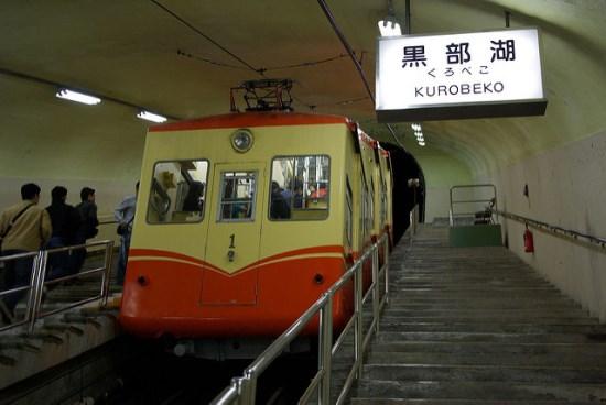 Pengalaman ke Tateyama Kurobe Alpine Route: Kurobe Cablecar