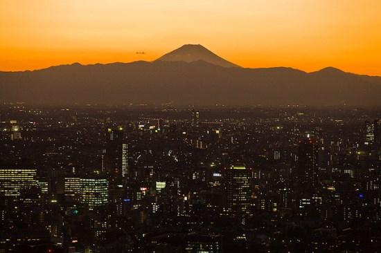 Pemandangan dari Tokyo Tower