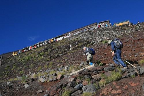 Perjalanan mendaki Gunung Fuji