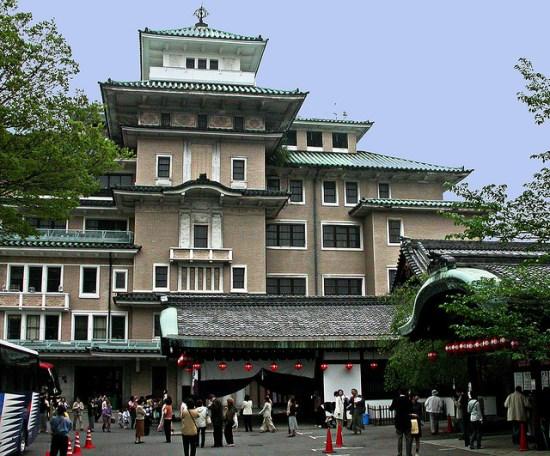 Pertunjukan budaya di Gion Corner