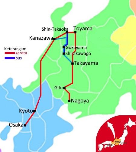 Peta Takayama Hokuriku Pass