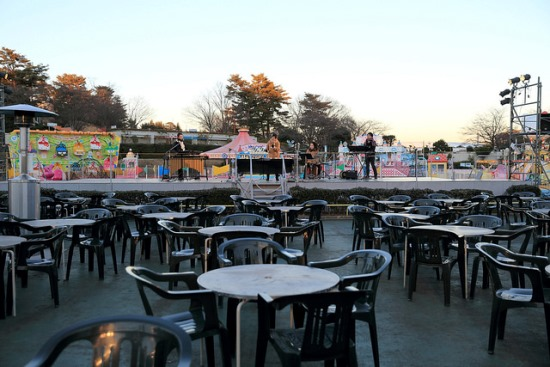 Piknik di Seibu Amusement Park