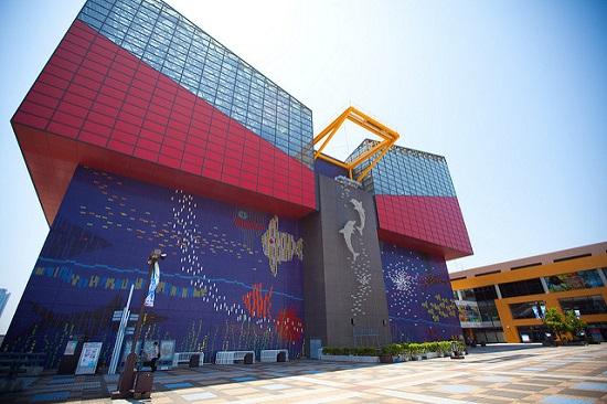 Pintu Masuk Osaka Akuarium Kaiyukan