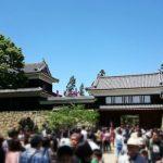 Pintu gerbang Kastil Ueda