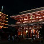 Pintu utama Kuil Sensoji Asakusa