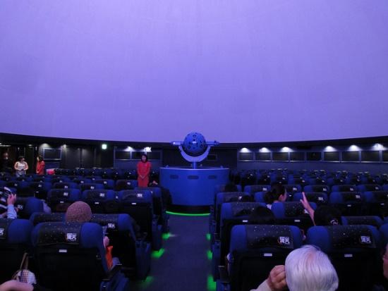 Planetarium Manten di Sunshine City Ikebukuro