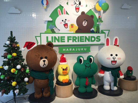 Produk Anime di Jepang Line Friends