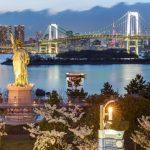 Rainbow Bridge dari Taman Odaiba