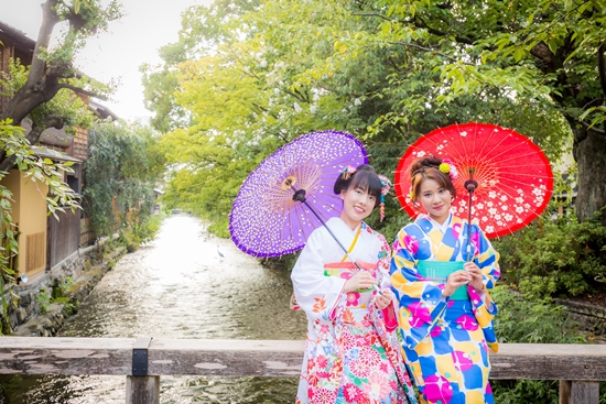 Rental Kimono Yumeyakata di Kyoto