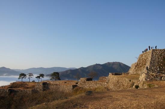 Reruntuhan Takeda Castle
