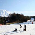 Resort Ski Fujiten di kaki Gunung Fuji