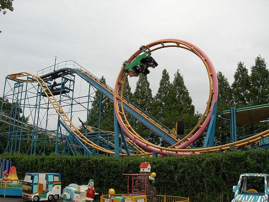 Roll coaster di Tobu Zoo