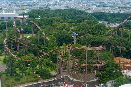 Roller coaster di Yomiuri Land