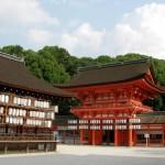 Sakuramon di Kuil Shimogamo