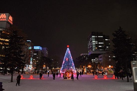 Sapporo White Illumination di Odori Park