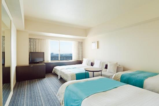 Satu kamar hotel bersama dengan anak di Osaka