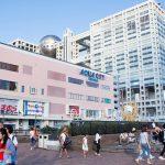 Suasana Aqua City di Odaiba dekat dengan gedung Fuji TV