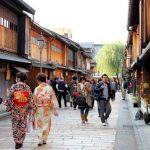Suasana Distrik Higashi Chaya di Kanazawa
