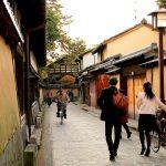 Suasana Distrik Samurai Nagamachi di Kanazawa