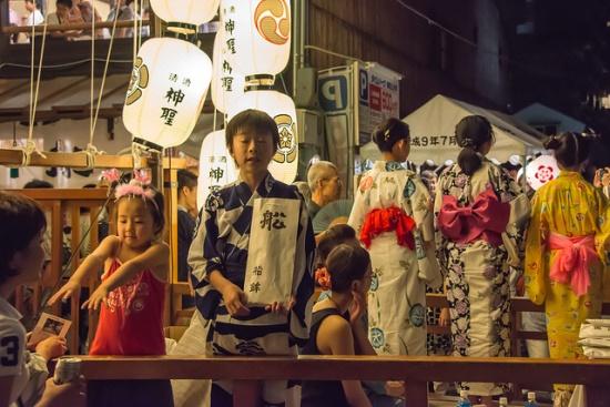 Suasana Festival Gion Matsuri
