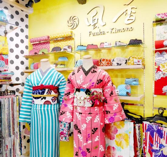 Tak perlu merogoh kocek yang tinggi guyss!! kalian bisa mendapatkan kimono original made in Japan di Fuuka