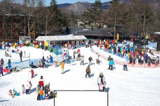 Suasana Karuizawa Prince Snow Resort di Nagano