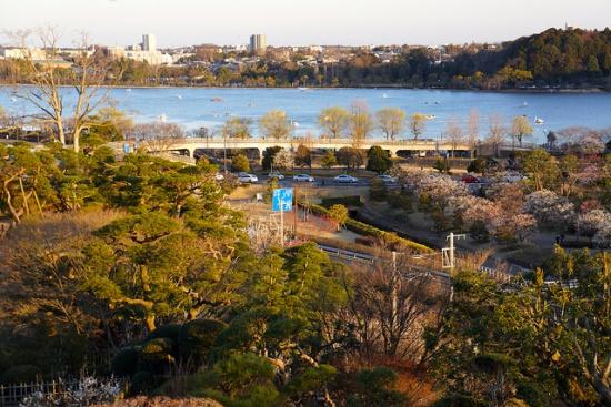 Suasana Kompleks Taman Kairakuen