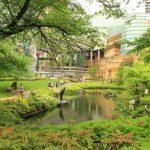 Suasana Mori Garden di Roppongi