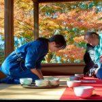 Suasana Sado Upacara Minum Teh Jepang