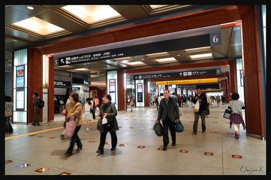 Suasana Stasiun Kanazawa
