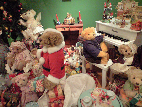 Suasana Teddy Bear World Museum