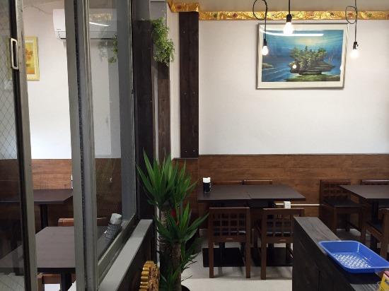 Suasana dalam Restoran Bintang Bali